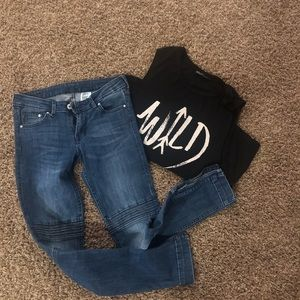 H&M Skinny Ankle Jeans Size 27